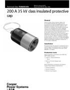 TD650001EN 200 A 35 kV Class Insulated Protective Cap