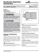 600A 35kV Deadbreak Protective Cap Installation Instruction_S600631