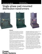 201-20 Single-Phase Pad-Mounted Distribution Transformers