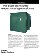 210-12 three-Phase Pad-Mounted Compartmental Type Transformer